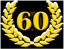 Jubiläum 60